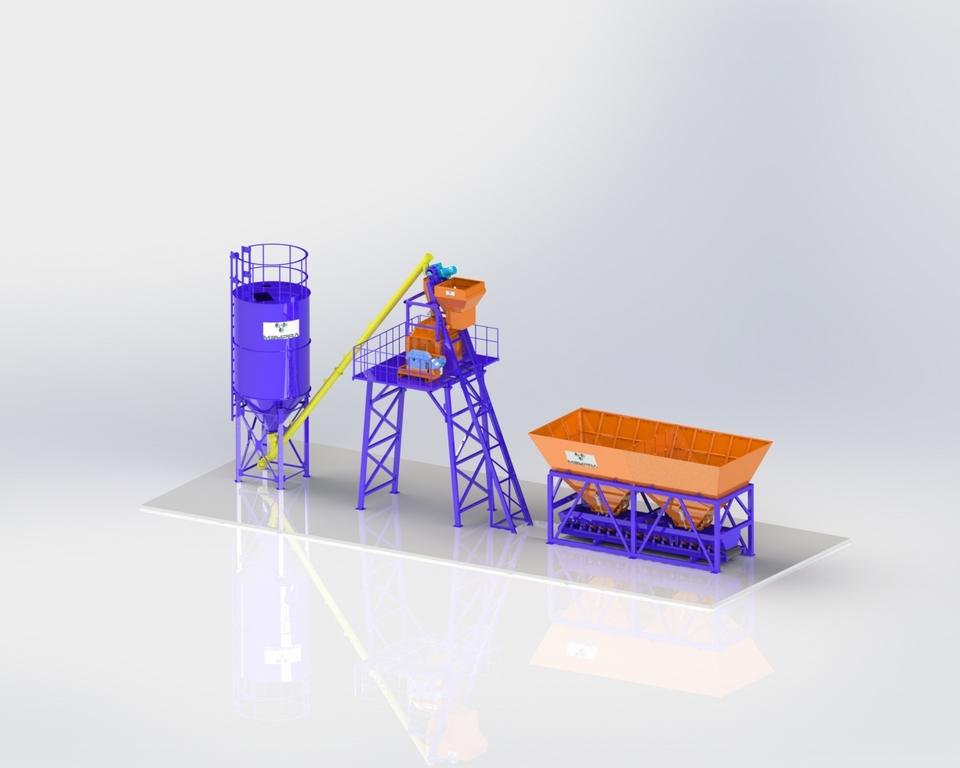 Бетонные заводы «УРАЛ-СКИП»