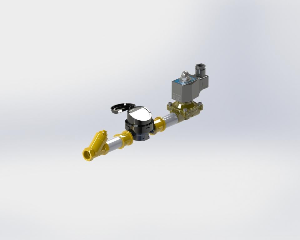 Дозатор проточный ДХД-20