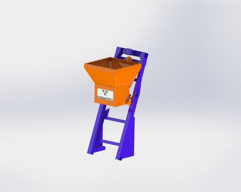 Скиповый подъемник СП-1500