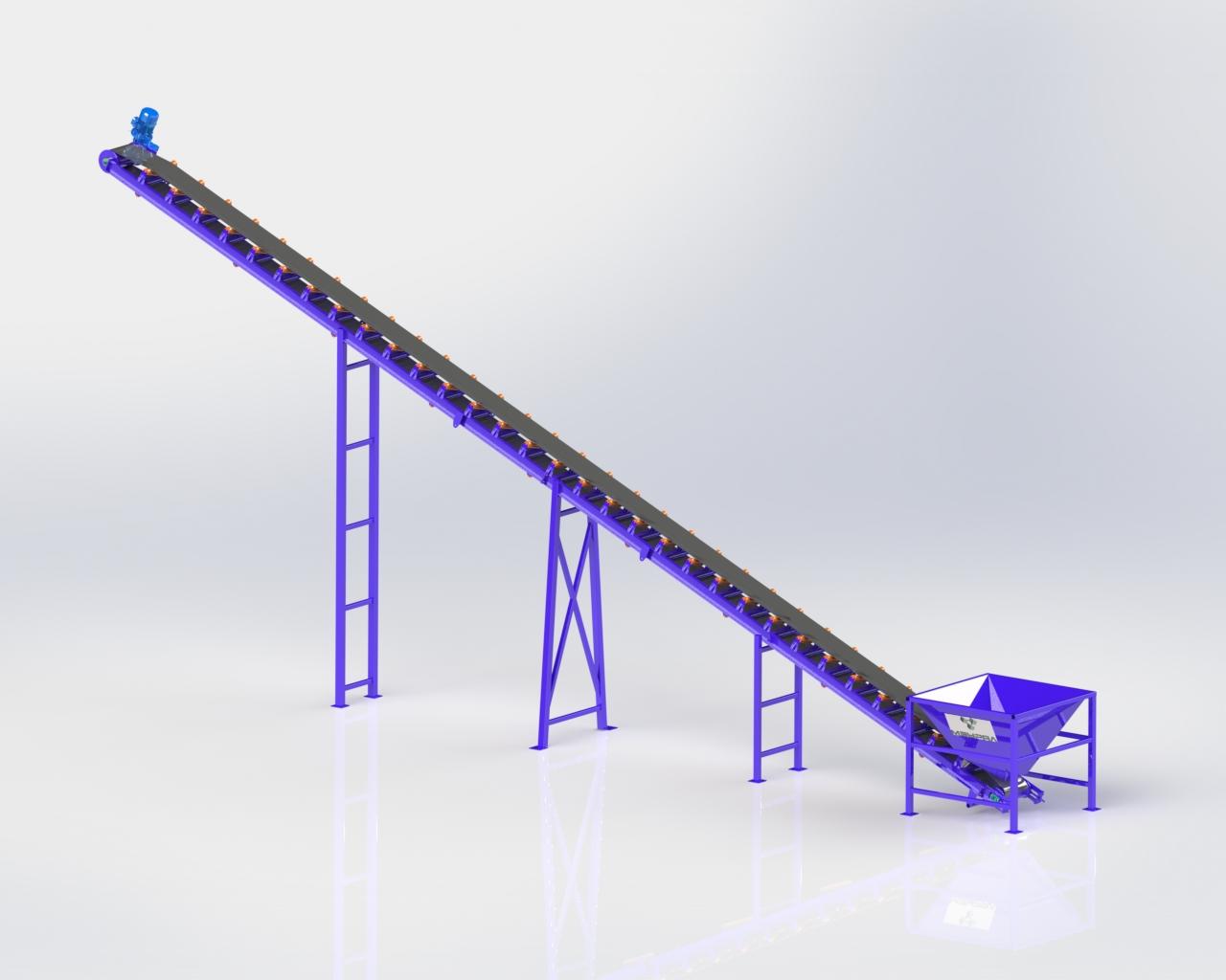 Ленточный конвейер ЛК16-600