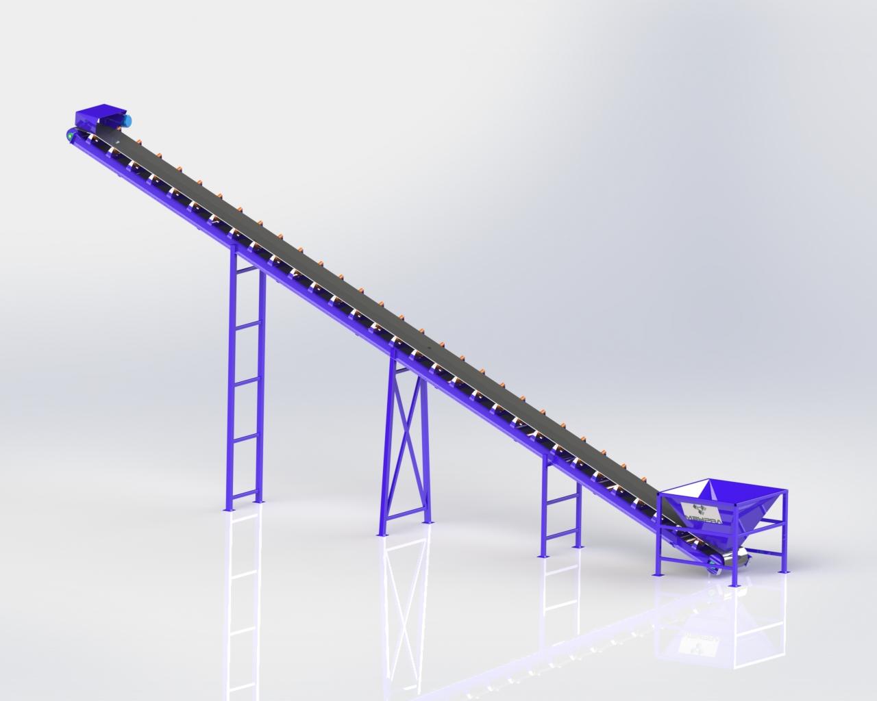 Ленточный конвейер ЛК16-800