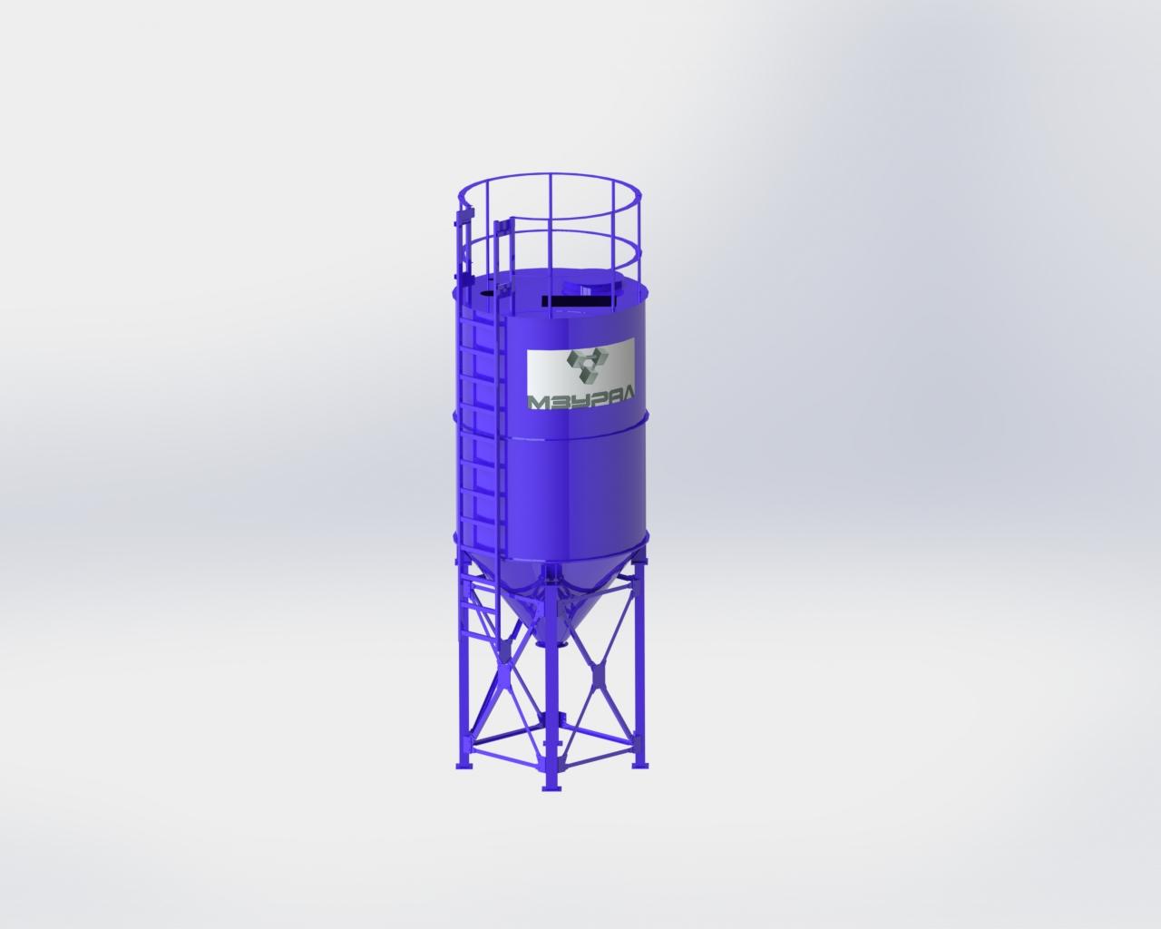 Силос цемента СЦ-22