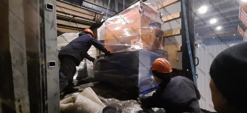 Мини завод «ЗП-УНИВЕРСАЛ-500» для заказчика из Армении